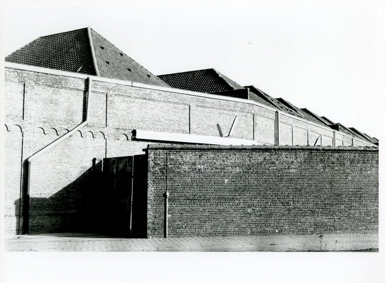 Buitenzicht van textielfabriek Vercoutere in Gent