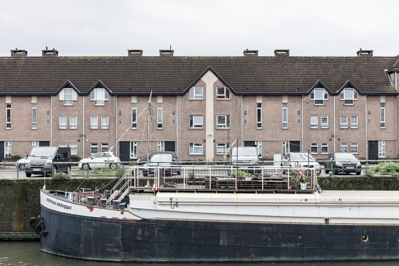 Woonwijk op voormalige site textielfabriek De Backer-De Rudder in Gent