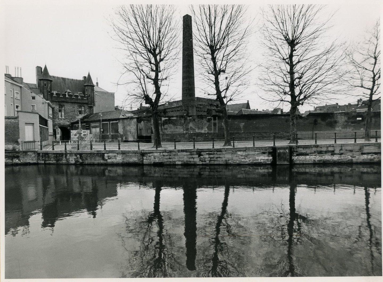 Buitenzicht textielfabriek Van Acker in Gent
