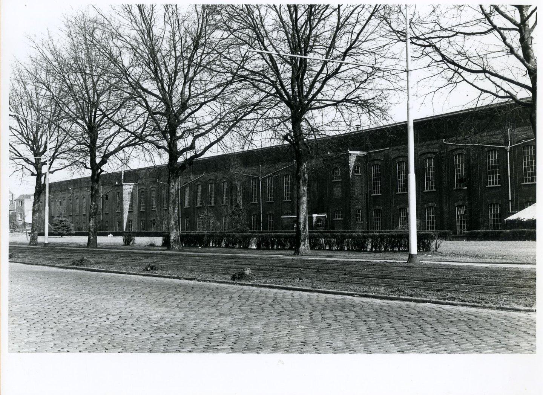 Buitenzicht van textielfabriek Florida in Gent