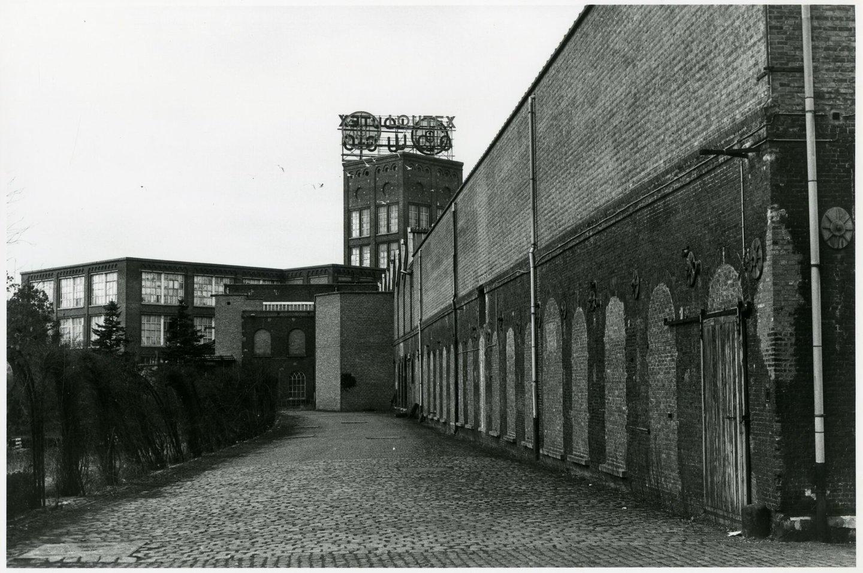 Buitenzicht van textielfabriek UCO La Louisiana in Gent