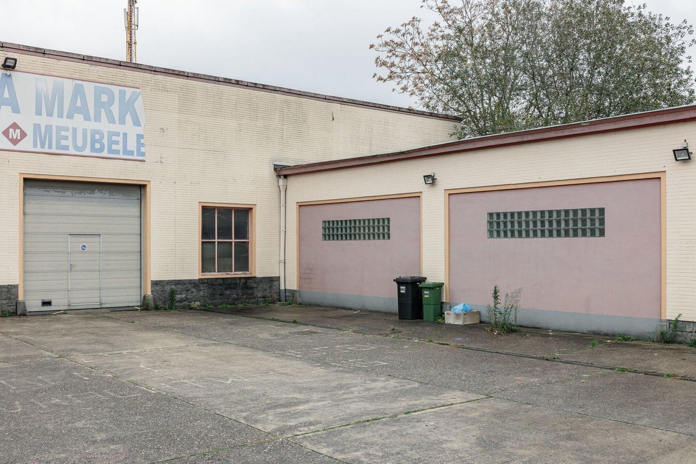 Buitenzicht van voormalige textielfabriek Tissage Franco-Belge in Gent