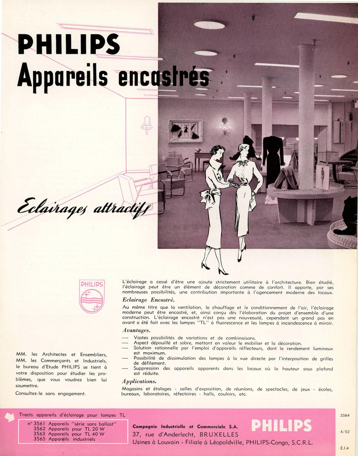 Philips appareils encastrés, eclairages attractifs