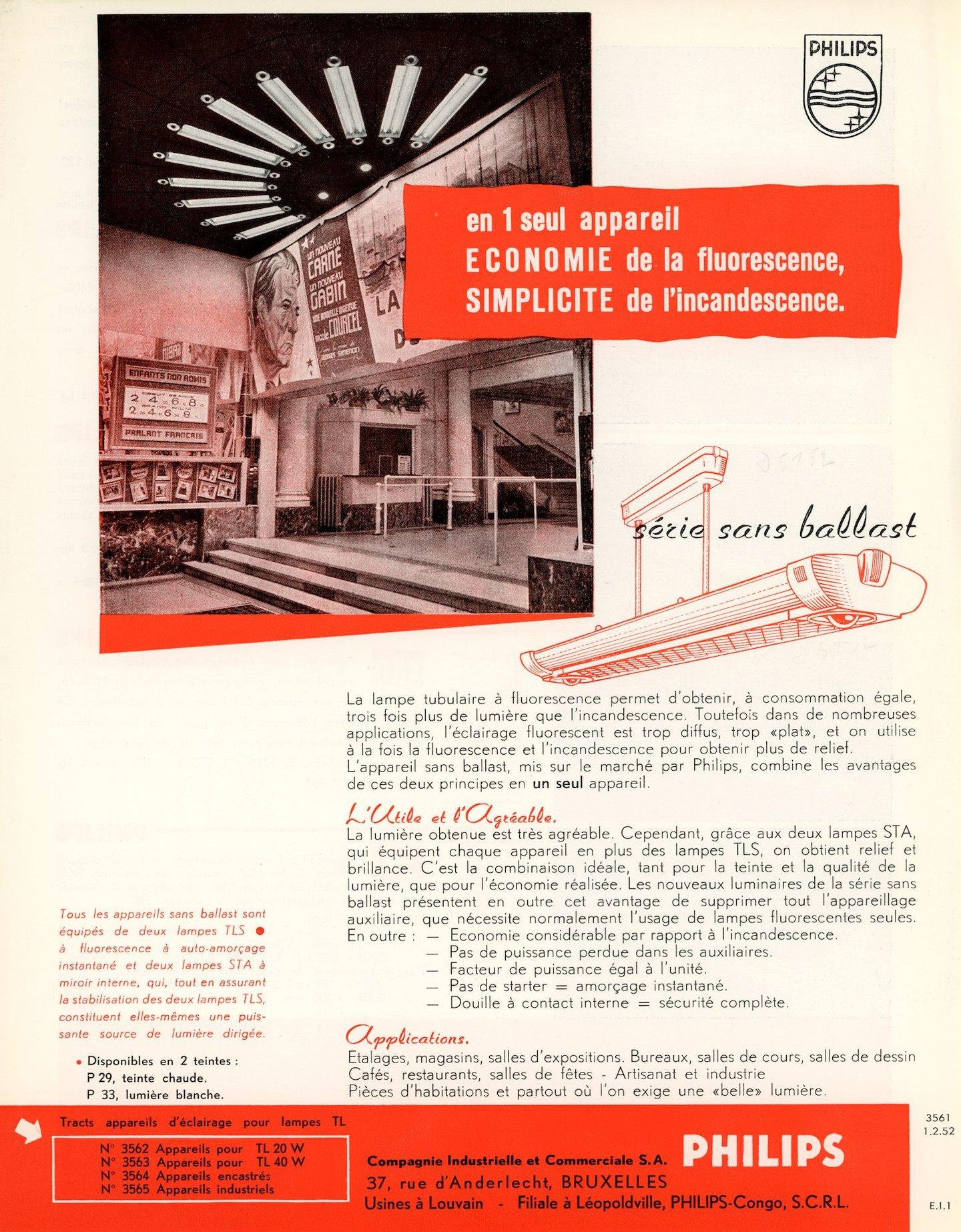 Productinformatie over buisvormige fluorescentielampen van het merk Philips