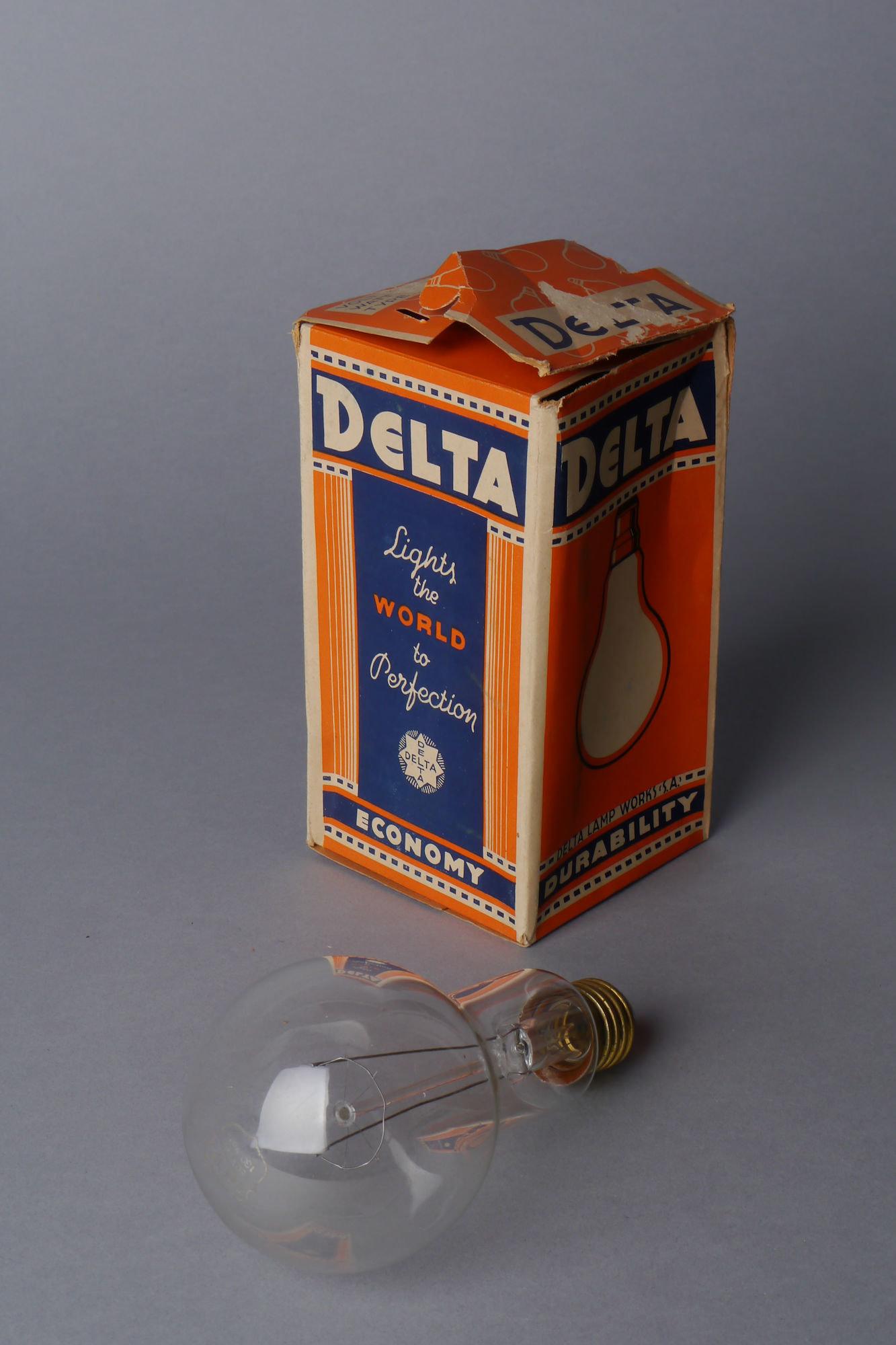 Gloeilamp van het merk Delta