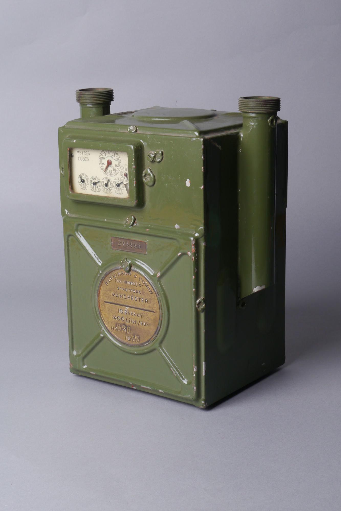 Verbruiksmeter voor gas van het merk Parkinson & Cowan