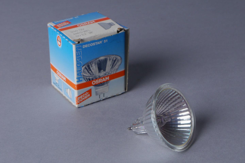 Halogeenlamp van het merk Osram