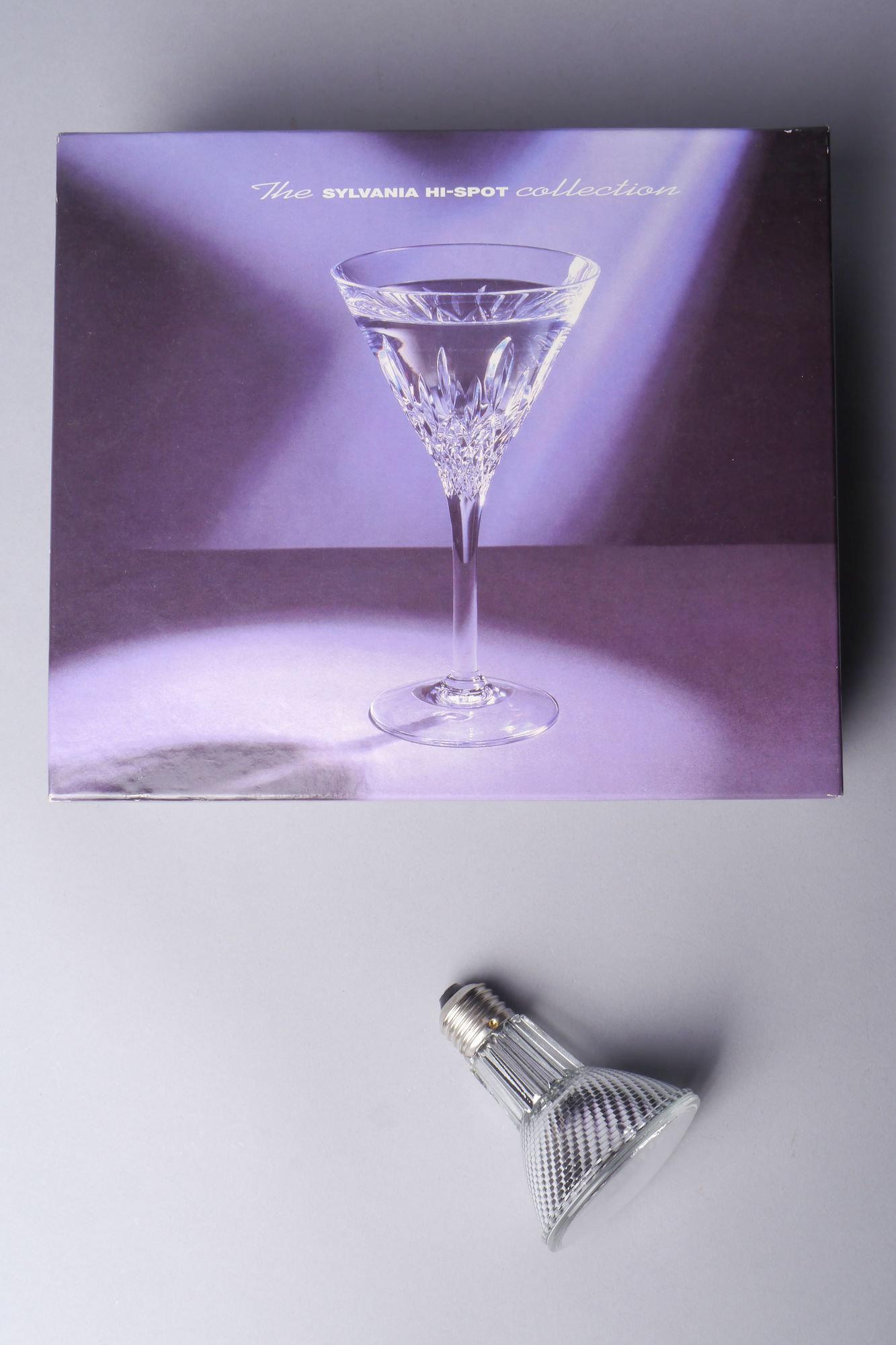 Promotiedoos met halogeenlamp van het merk Sylvania