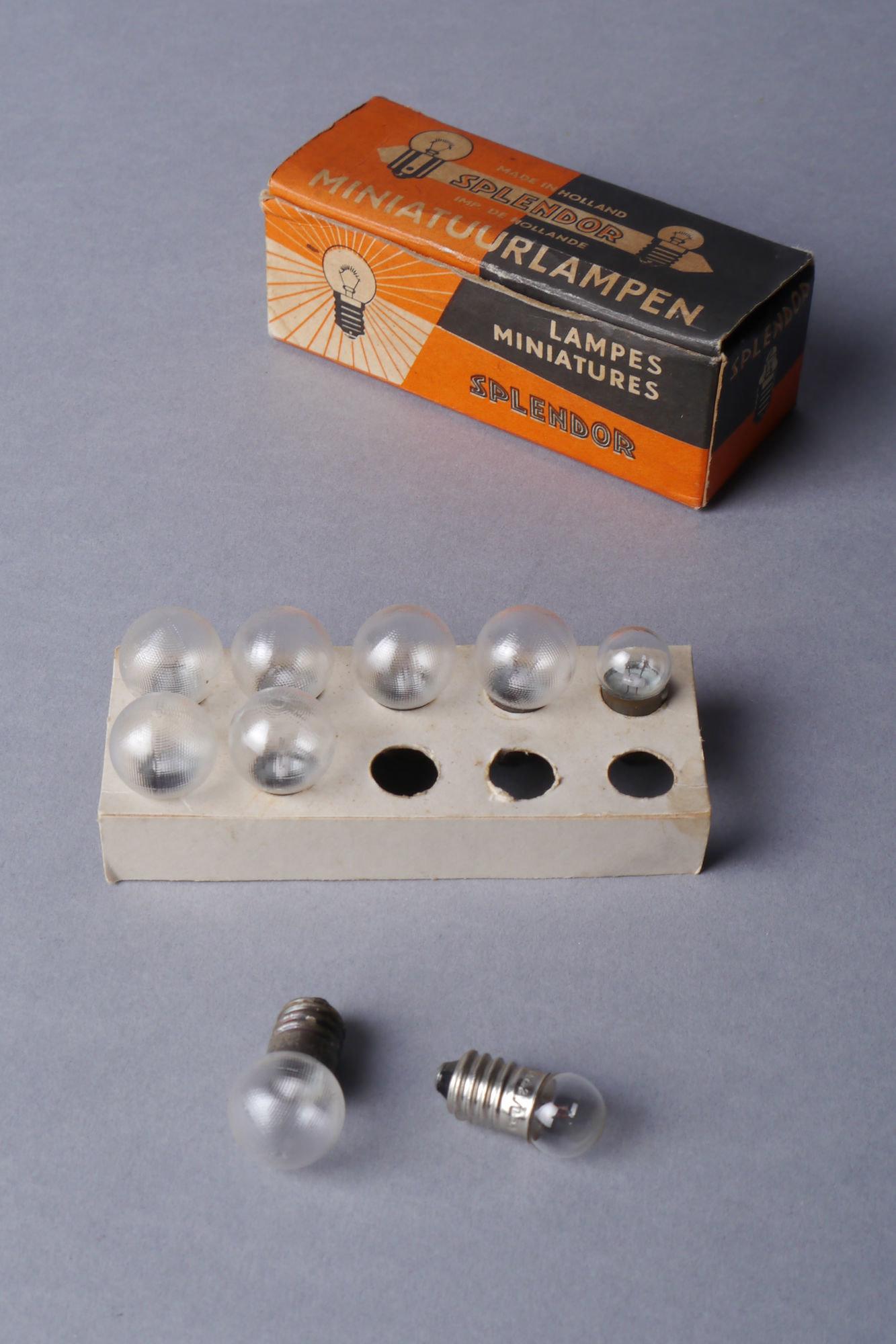 Miniatuurlampjes van het merk Splendor