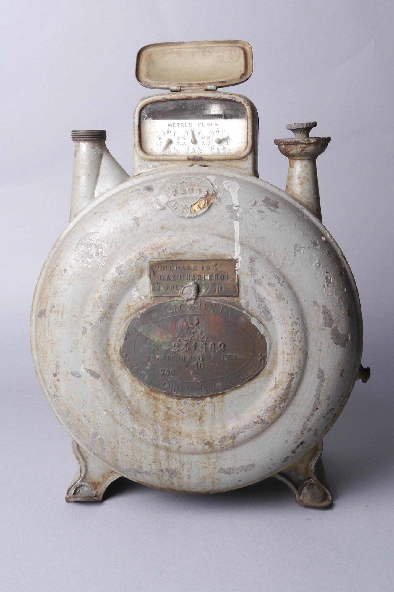 Verbruiksmeter voor gas van het merk Rigaux