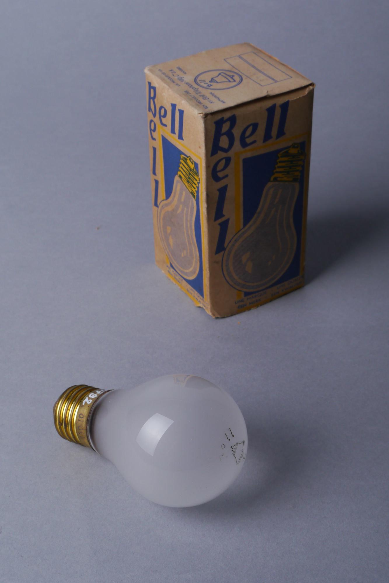Gloeilamp van het merk Bell