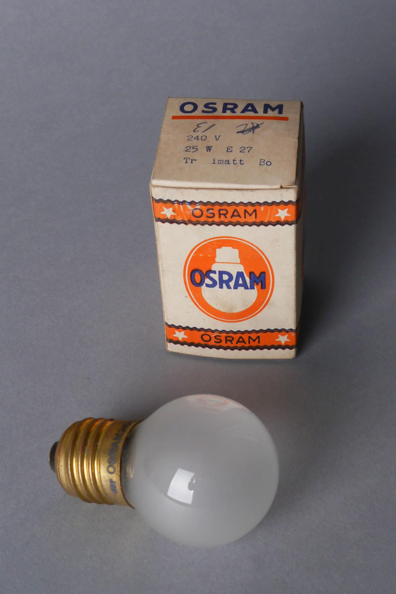 Gloeilamp van het merk Osram