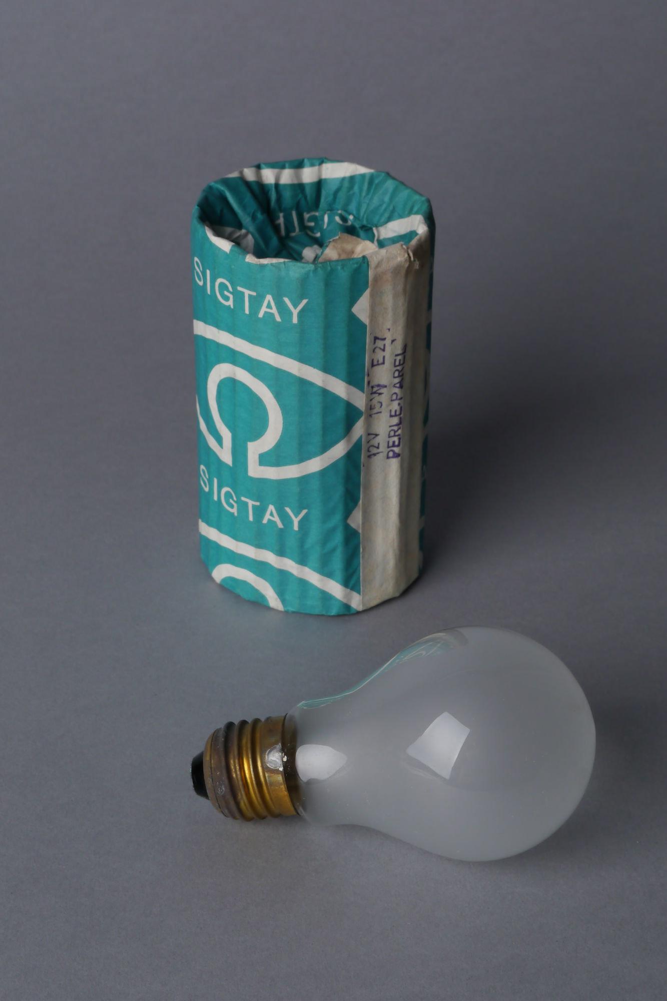 Gloeilamp van het merk Sigtay