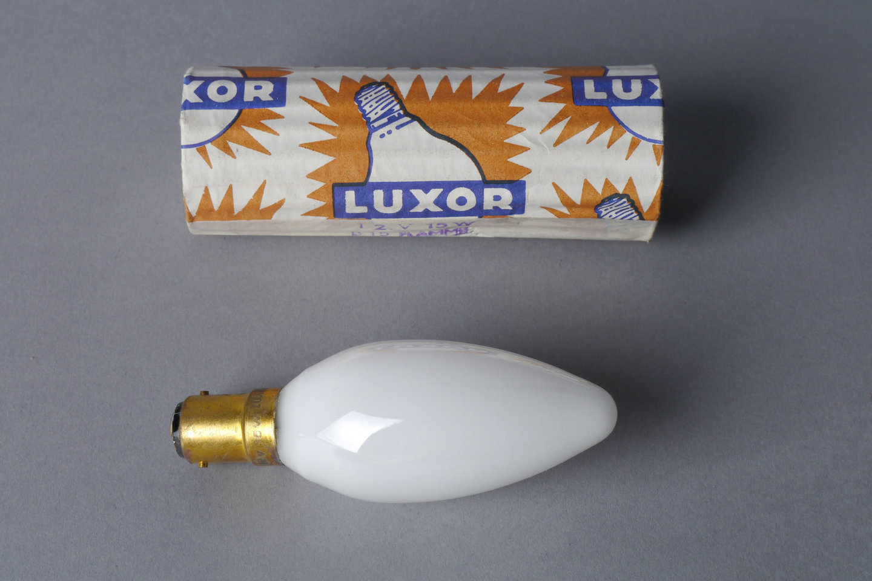 Gloeilamp van het merk Luxor