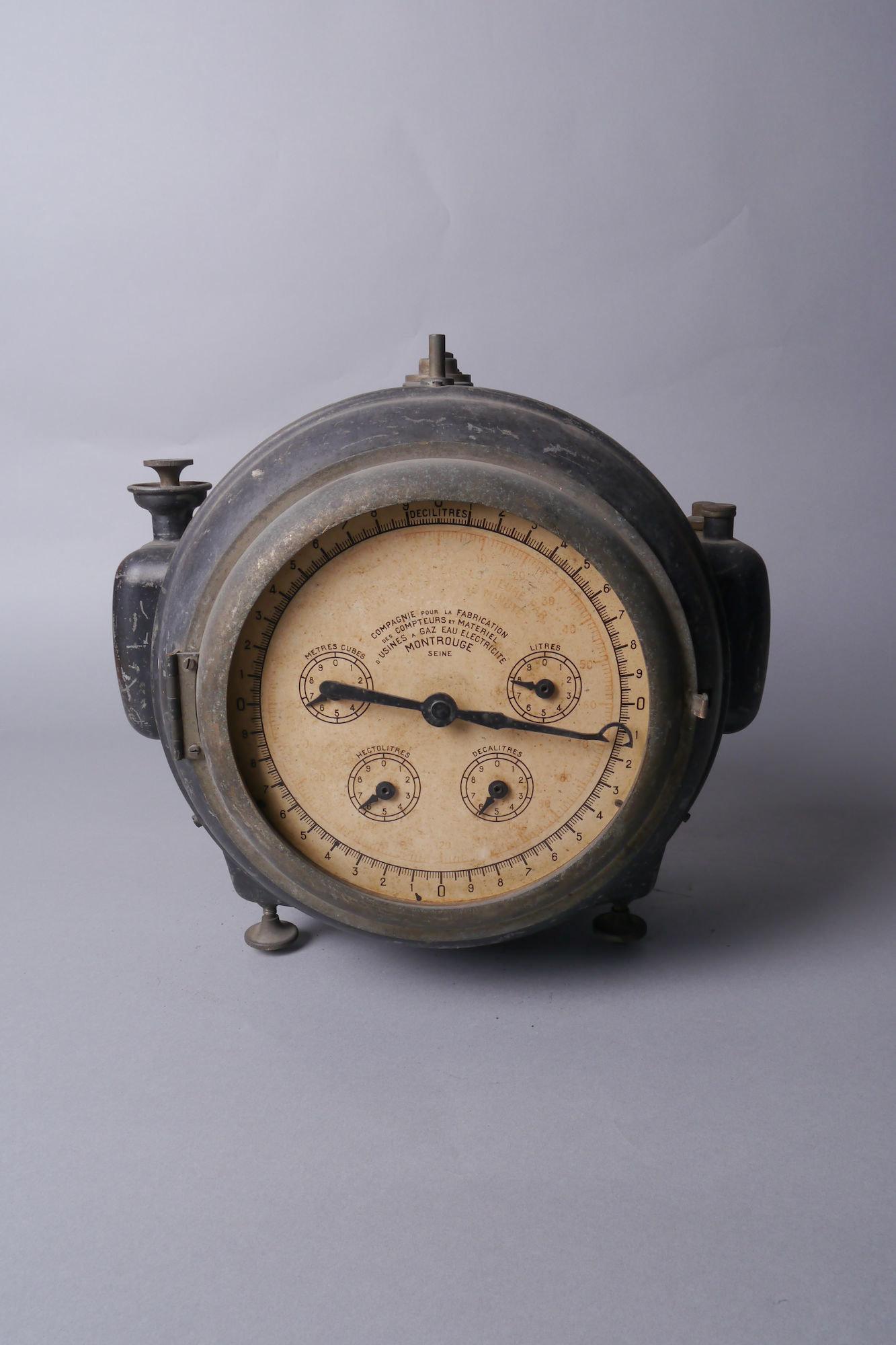 Verbruiksmeter voor gas van het merk Compagnie pour la Fabrication des Compteurs