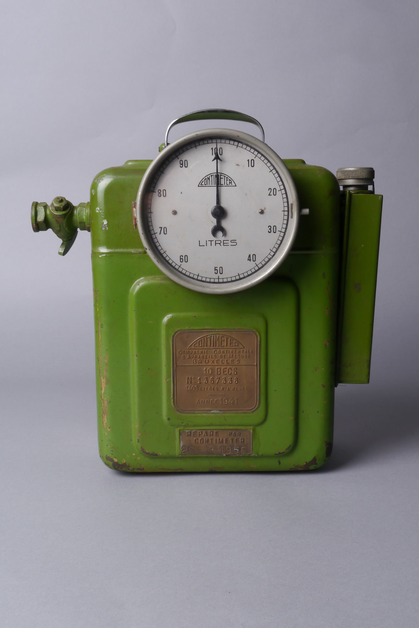 Draagbare ijkmeter voor gas van het merk Contimeter