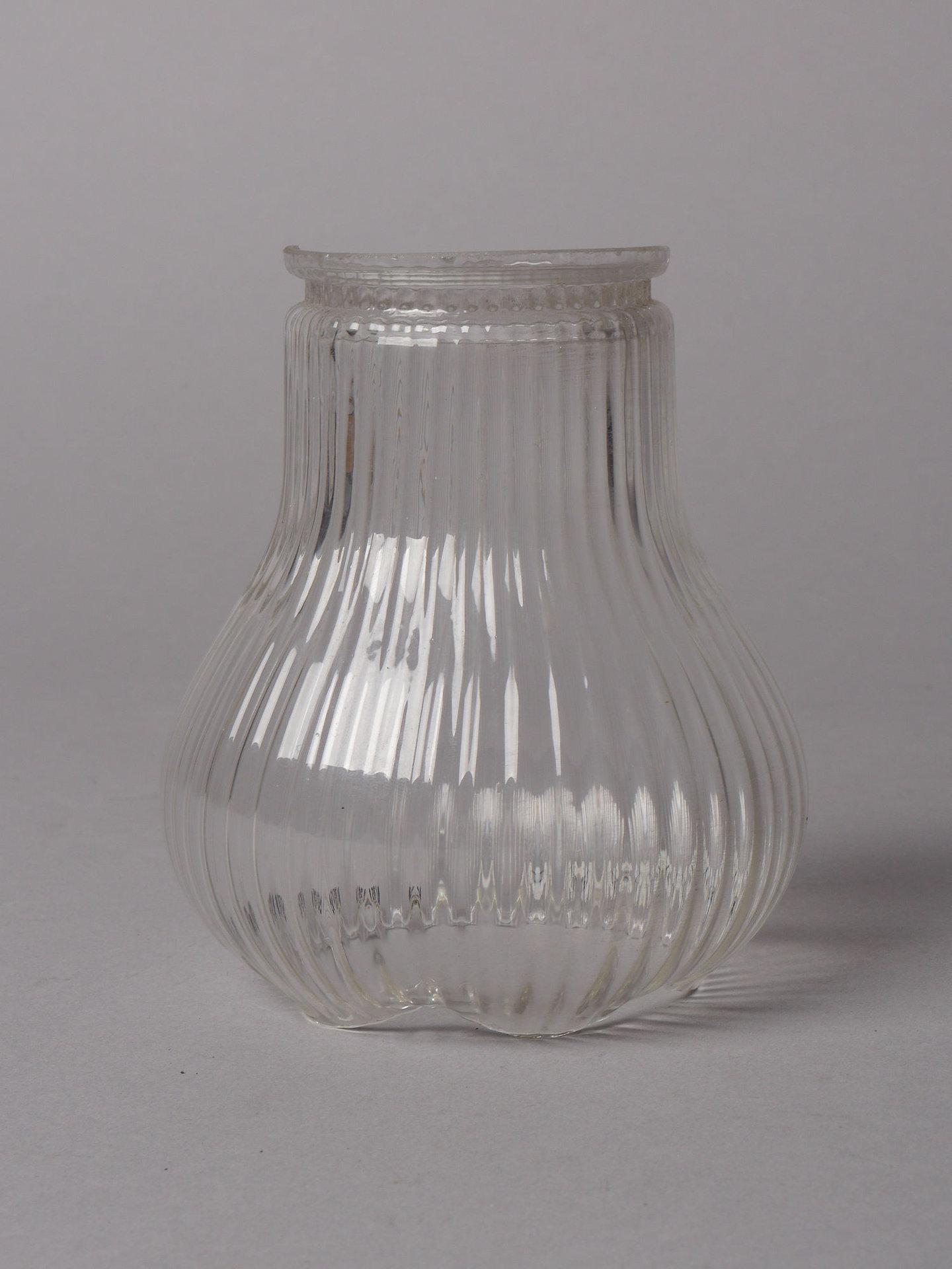 Lampenkap in transparant glas