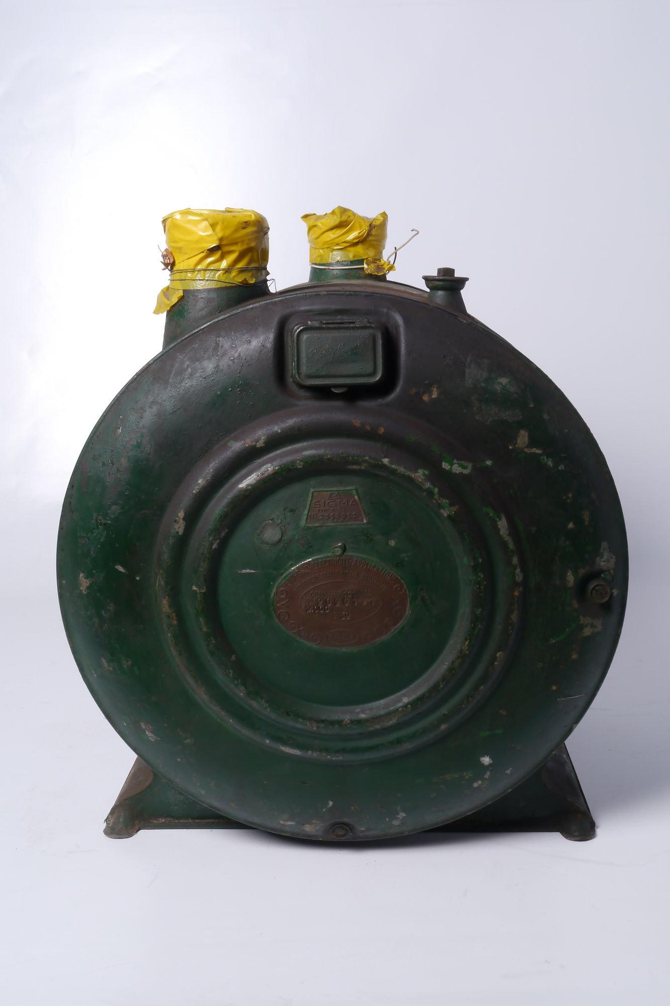 Verbruiksmeter voor gas van het merk Compagnie des Compteurs