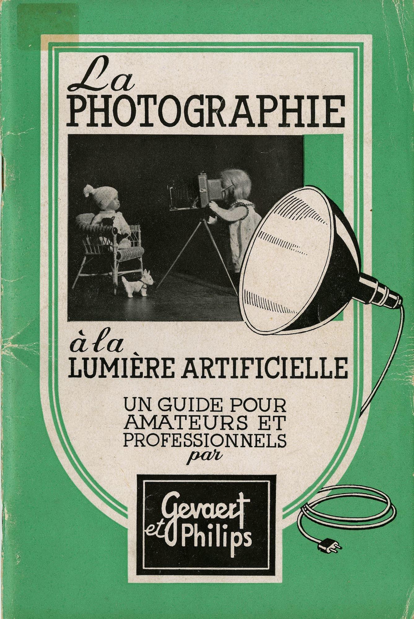 Brochure Philips, La Photographie à la lumiére artificielle