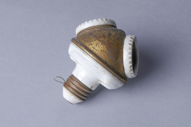 Adaptiestuk met 2 lamphouders