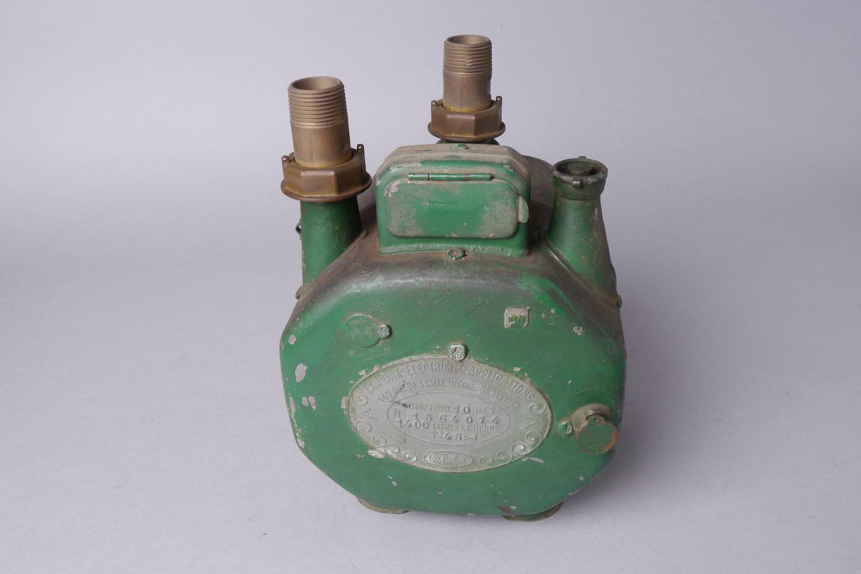 Verbruiksmeter voor gas van het merk EGEA