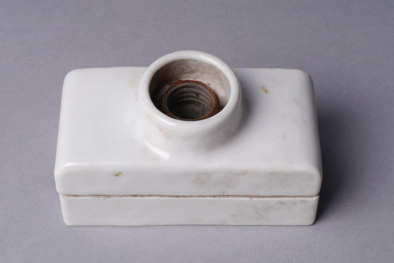 Voet voor schroefkop als houder voor een Diazed smeltveiligheid