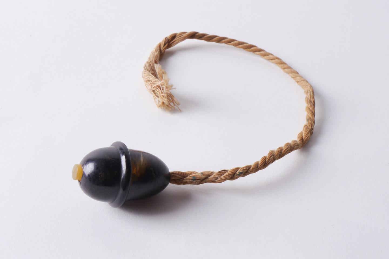 Snoerschakelaar als eindstuk van een elektrische kabel