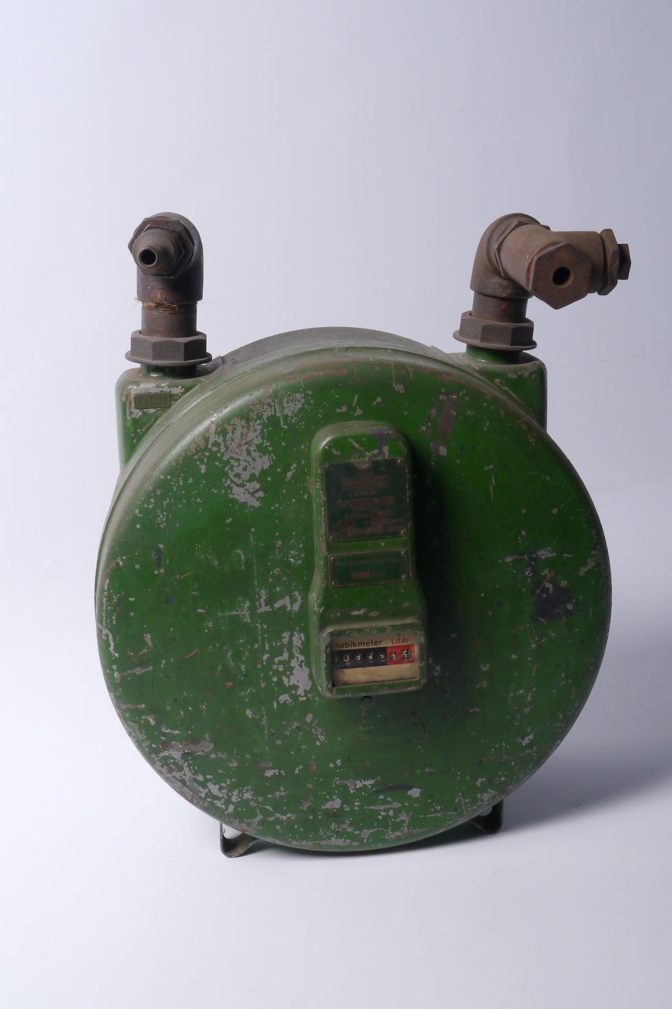Verbruiksmeter voor gas van het merk Pintsch
