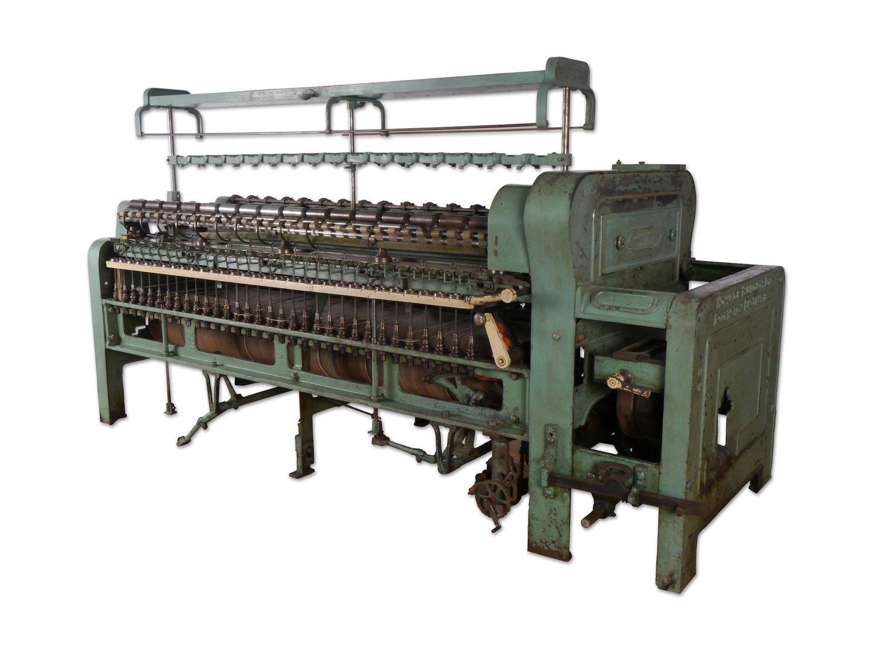 Ringspinmachine of spincontinu van het merk Howard & Bullough