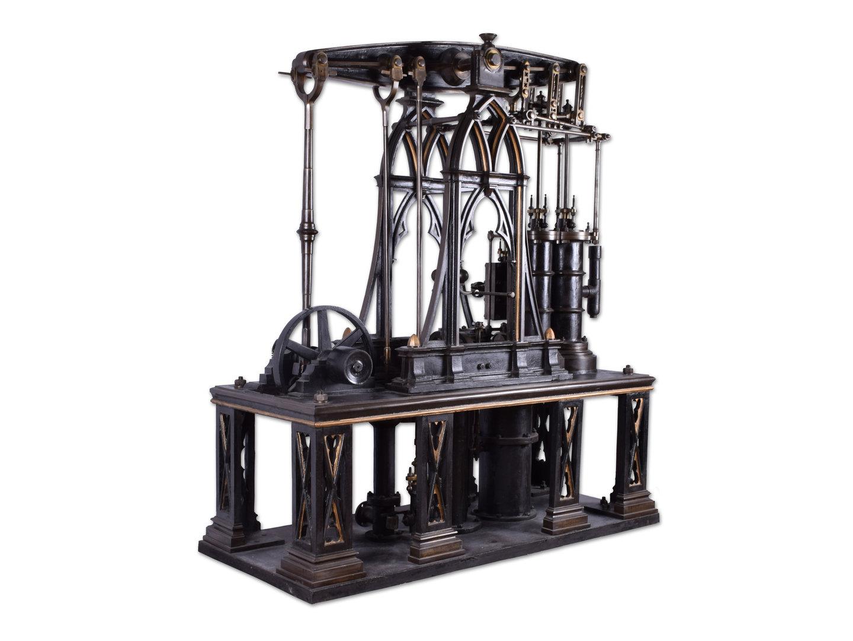 Compound balansstoommachine