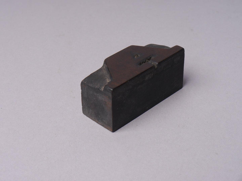 Houten drukletters van het type Clarendon