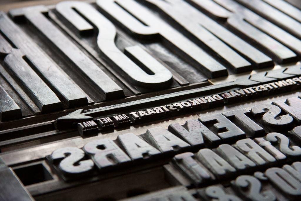 De revival van de Letterpress