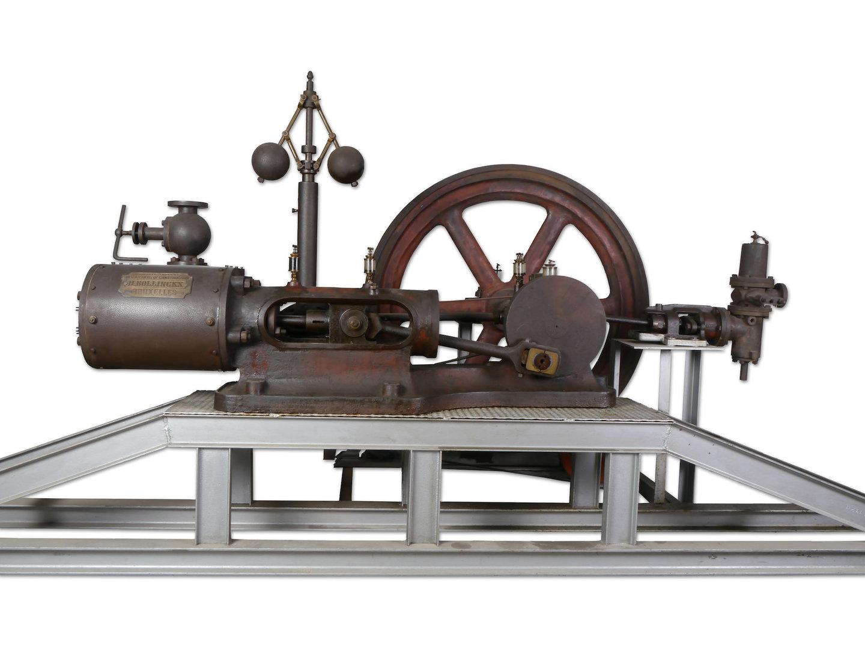 Stoommachine van het merk Bollinckx