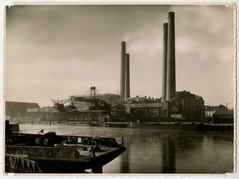 Elektriciteitscentrale Gent, gelegen langs de Ham