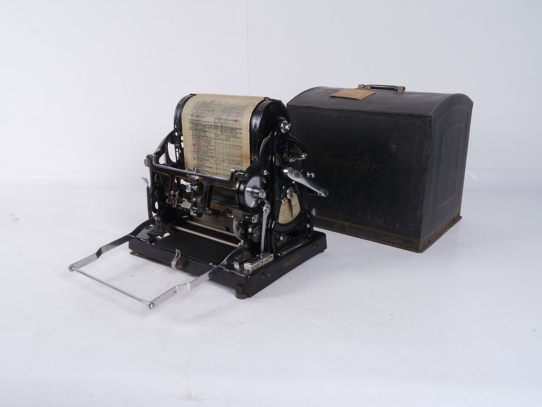 Manuele stencilmachine van het merk Gestetner