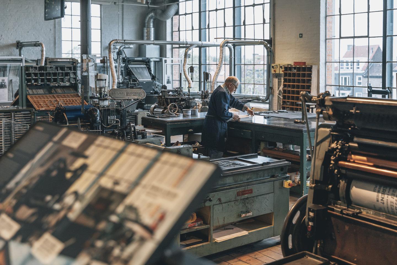 De drukkerijcollectie van het Industriemuseum 1989-2019