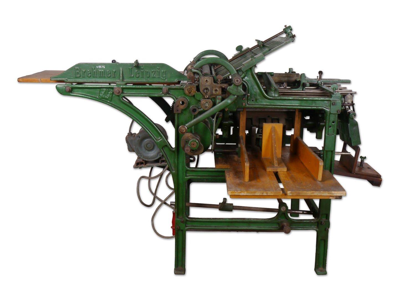 Papiervouwmachine van het merk Brehmer