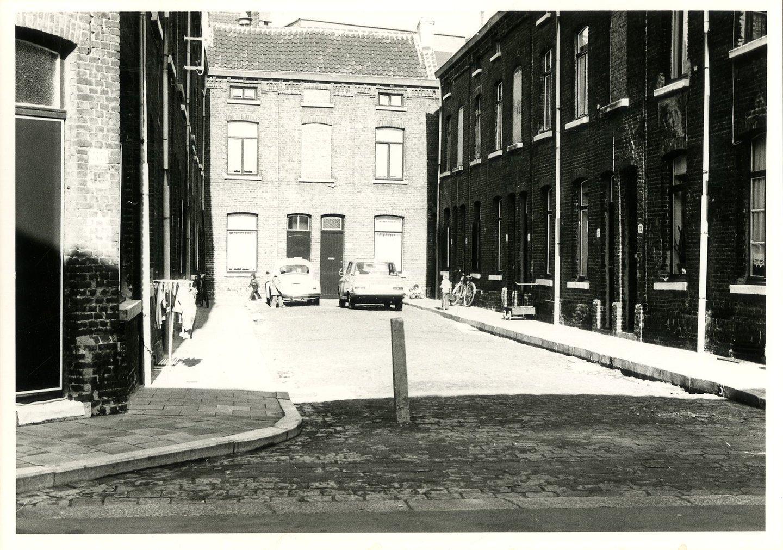 Beluik Bandelierstraat, zijstraat Stokerijstraat, buurt Sluizeken-Tolhuis-Ham, Gent