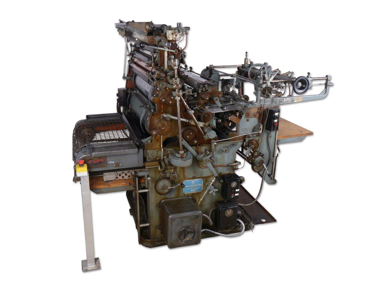 Offsetpers van het merk AB Printing Equipment Solna
