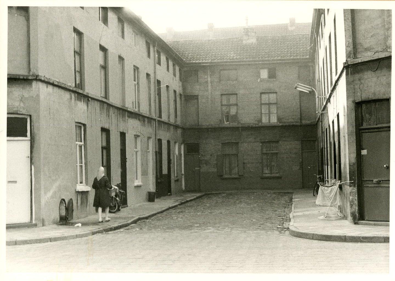 Beluik Gerststraat, gelegen in de wijk Sluizeken-Tolhuis-Ham, Gent