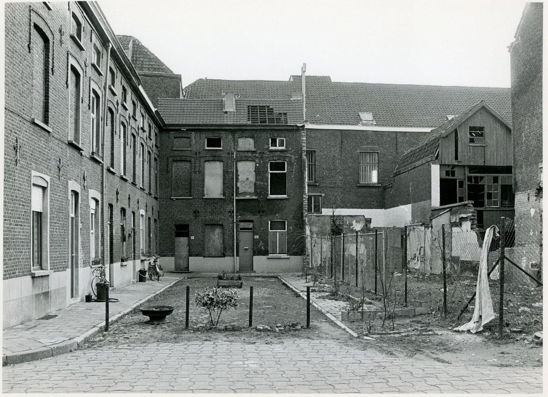 Beluik Meelstraat, gelegen in de wijk Tolhuis-Sluizeken-Ham, Gent
