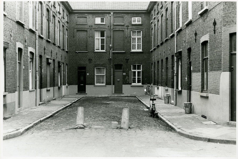 Beluik Meelstraat gelegen in de wijk Tolhuis-Sluizeken-Ham, Gent
