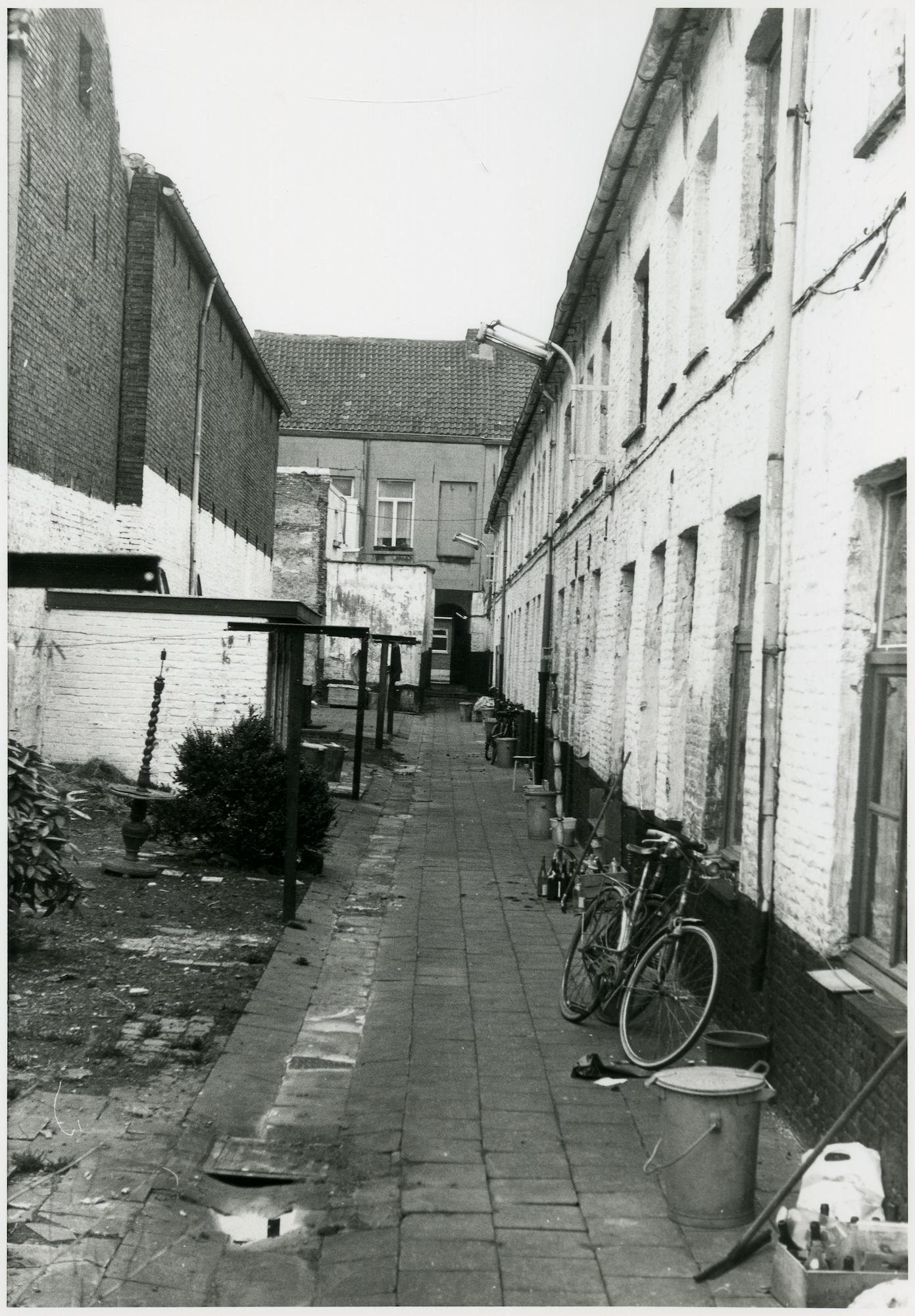 Beluik Voetweg omgeving Ter Platen, Gent