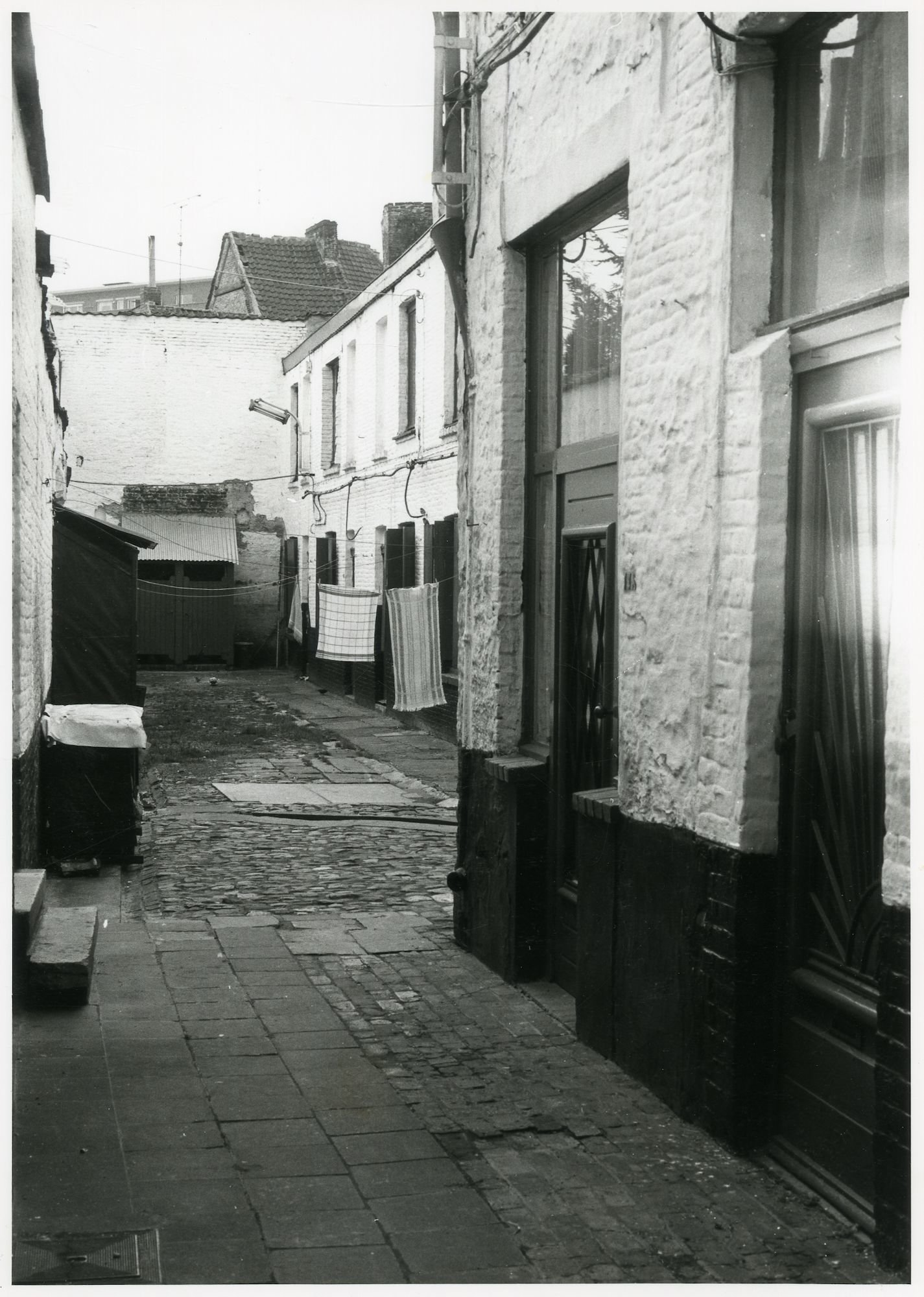 Beluik Hoogstraat 98-119 buurt Elisabethbegijnhof-Papegaai, Gent