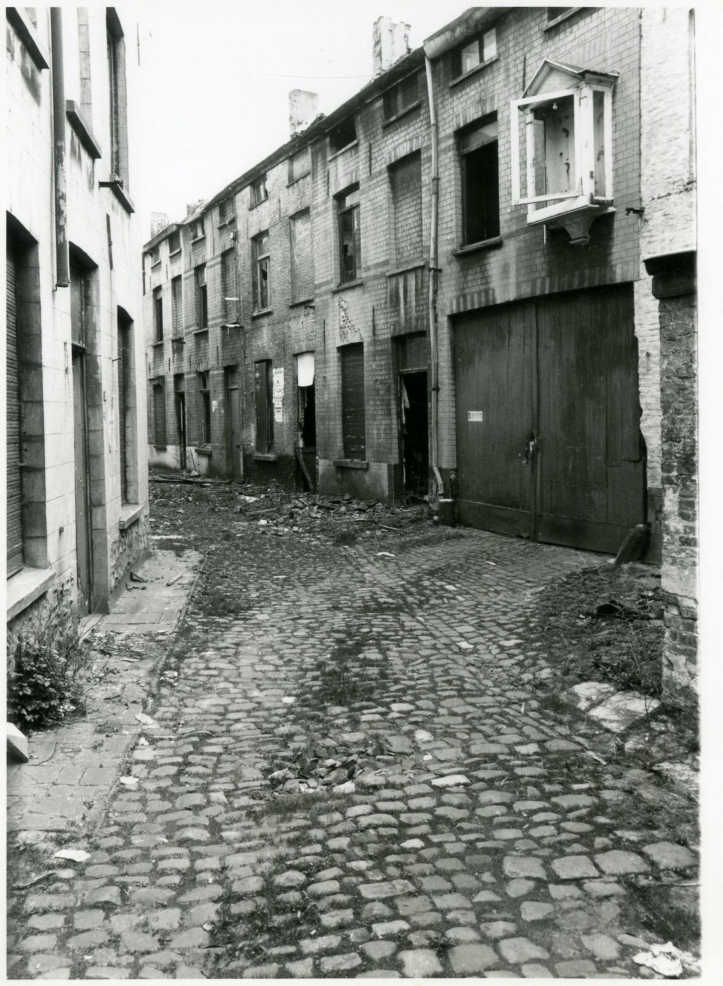 Beluik Guldenvliesstraat gelegen in de wijk Rabot-Blaisantvest, Gent