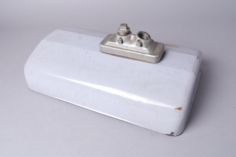 Geëmailleerde lampenkap van het merk Philips