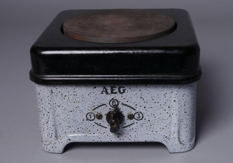 Elektrische kookplaat van het merk AEG