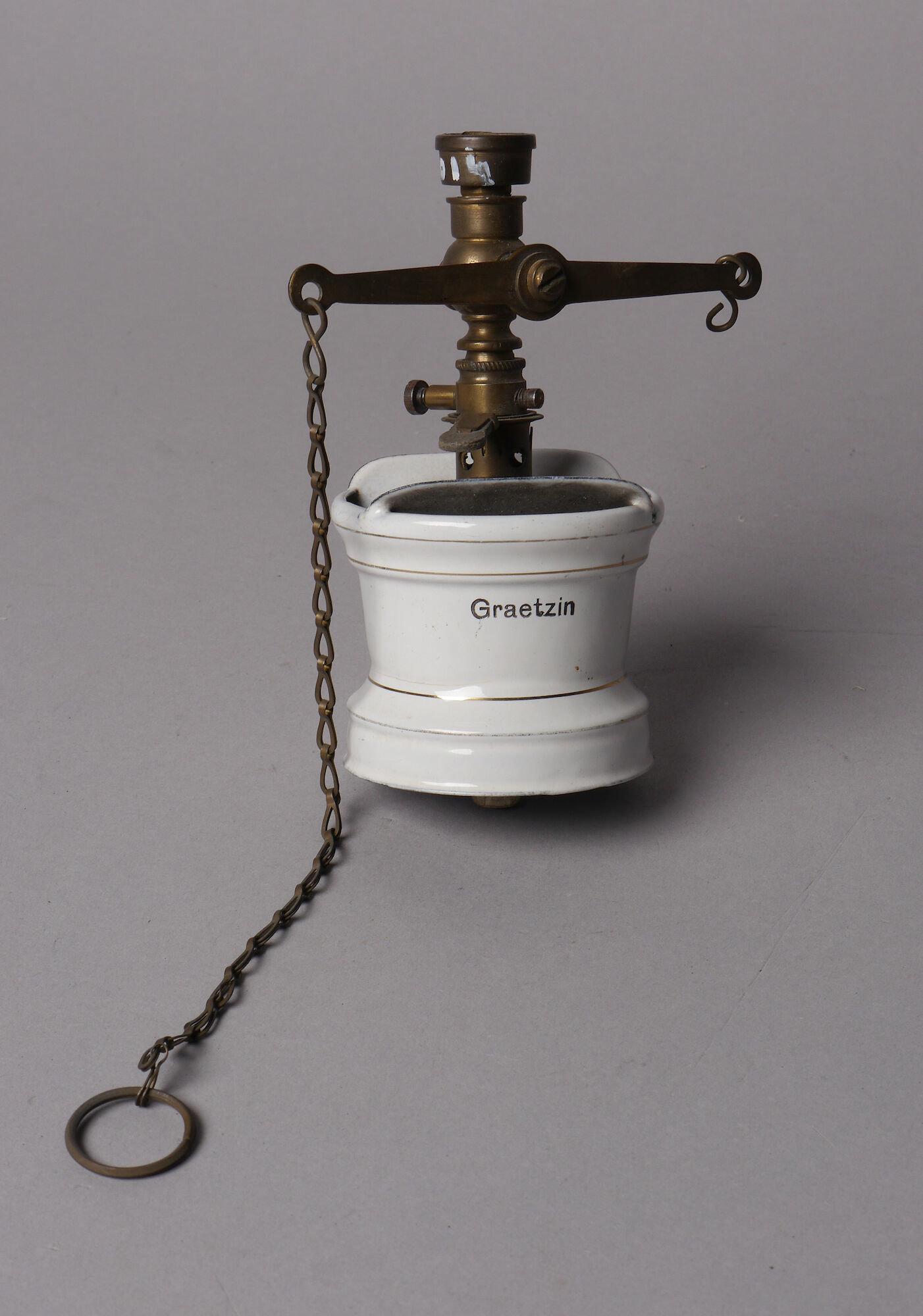 Gasbrander van het merk Graetzin voor hangend gloeikousje