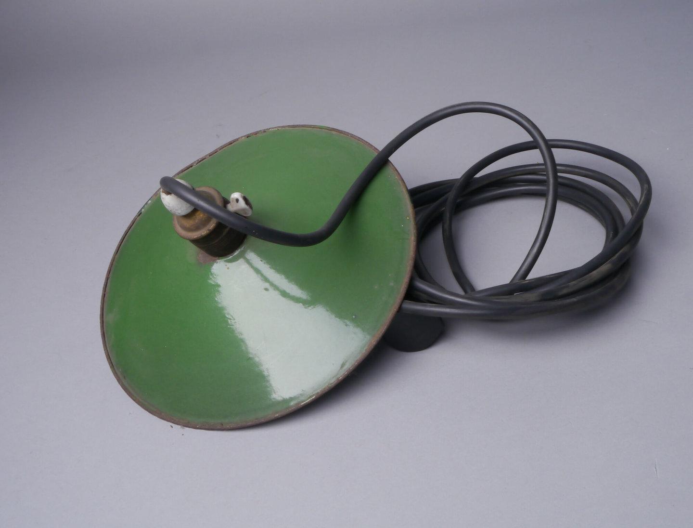 Geëmailleerde ronde lampenkap