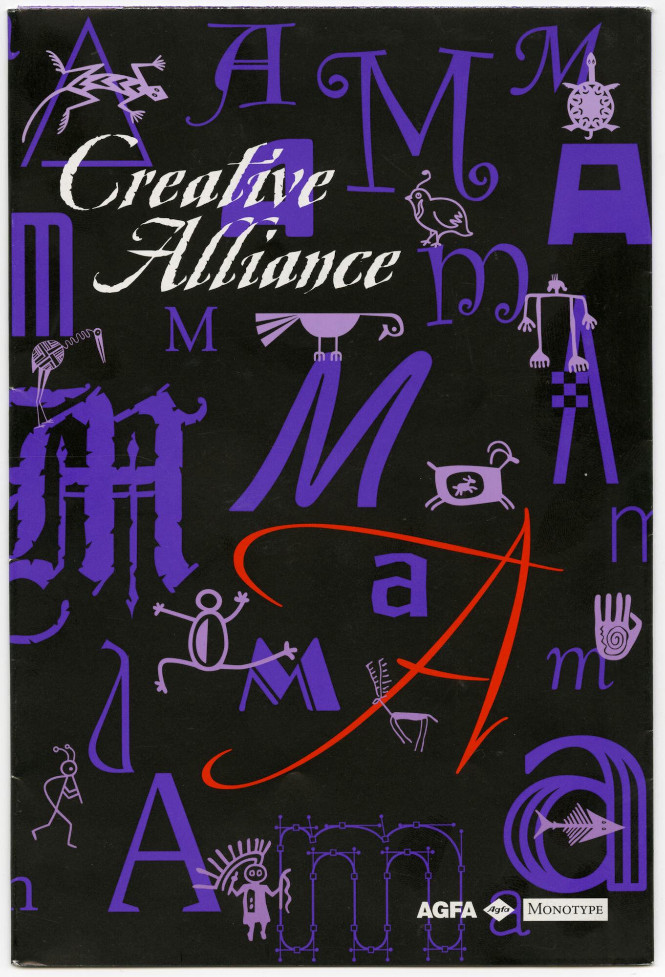 Letterproef met lettertypes van Agfa en Monotype